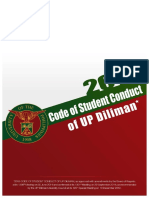 2012 Code of Student Conduct