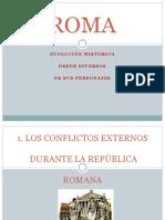 Historia de ROMA a Través de Sus Personajes 2017