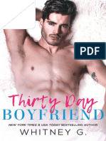 Thirty Day Boyfriend - Whitney G