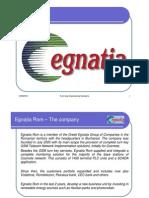 Egnatia Rom Presentation