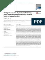 Multi-period medical diagnosis method using asingle valued neutrosophic similarity measurebased on tangent function