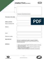 Property Information Form