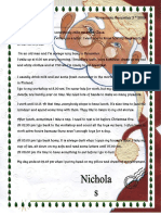 Letter From Santa Daily Routine
