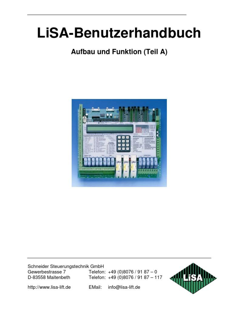 LiSA Handbuch Teil A