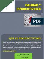 4 Calidad y Productividad