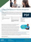 Postgraduate Diploma in It Security Management C36 16 Global