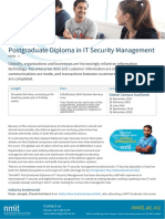 Postgraduate Diploma in It Security Management C36 16 Global