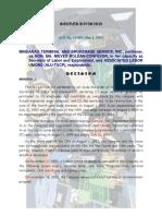 [Case Brief] Mindanao Broken v Moles