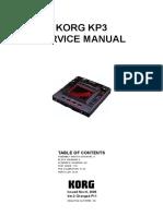 Korg Kp3 Sm Ver2a Kaoss Pad Dynamic Effects Sampler