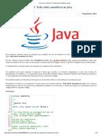 Todo Sobre Semáforos en Java
