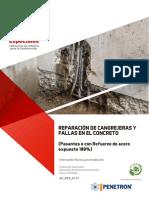 Ficha Tecnica en Reparacion de Cangrejeras y Fallas - Pasantes