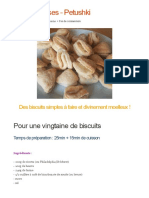Biscuits Russes - Petushki _ CookEat