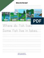 Where Do Fish Live