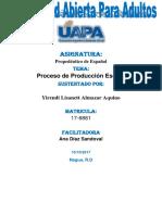 Prop. de Español Unidad VI Yirandi Almanzar