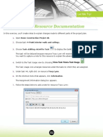 4 02 Enter Task and Resource Documentation