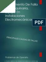 1.2 Elemento de Falla de Maquinaria, Equipo en Instalaciones Electromecánicas