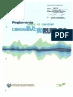 Reglamento Contaminación Ruidos 8019 2011.pdf