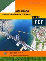 Kota Ambon Dalam Angka 2016