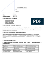 Informe Pedagógico Alexis Campos