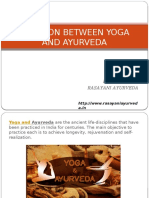 Relation Between Yoga and Ayurveda