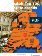 Dutch Top 100 Corporate Brands (August 2010)
