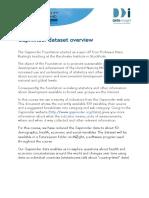 Gapminder Dataset Overview