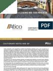 Corporate Presentation Atico