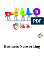 Business Networking info
