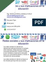 Redes Sociales y Sus Implicaciones en La Educacion