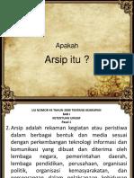 Arsip Pegawai Alih Kelola PTK Provinsi Jawa Barat