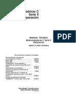 772CHII Repair Manual Spanish