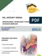Reduccion de Azucar Grasas y Sodio ASEAL