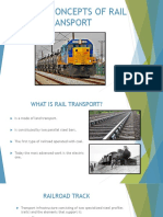 General Concepts of Rail Transport