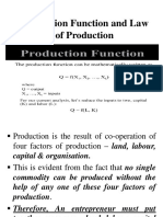 7- Production Function