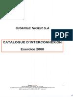 Catalogue Interconnexion
