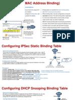 Bind IP and MAC