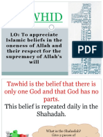 tawhid ela