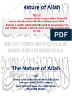 the nature of allah rvw