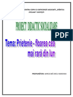 PROIECT DIDACTIC SOCIALIZARE (1).doc