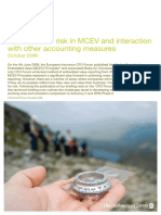 Allowance for Risk in Market Consistent Embedded Value (MCEV)