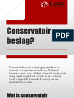 Conservatoir Beslag - E-legal Incasso Advocaten