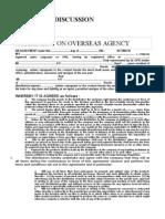 Agreement on Overseas Agency-mod