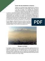 Contaminación Del Aire Ambiental