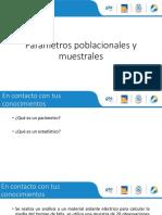 1.2. Parámetros Poblacionales y Muestrales.