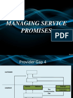 Gap 4 - Managing Service Promises