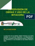 Supervision de Obras y Uso de La Bitacora