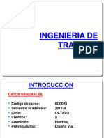 Ingenieria de Transito - 01 INTRODUCCION