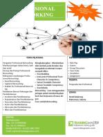 Training - Pelatihan | People/Professional Networking