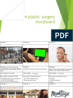 Group 4 Plastic Surgery Storyboard