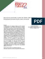 Deleuze & Guattari - A Arte de Criar Conceitos e as Colagens